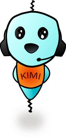 kimi is a happy chatbot
